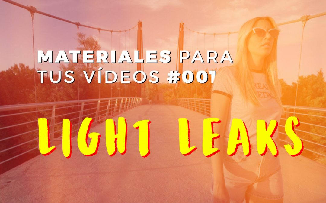 LIGHT LEAKS para Adobe Premiere